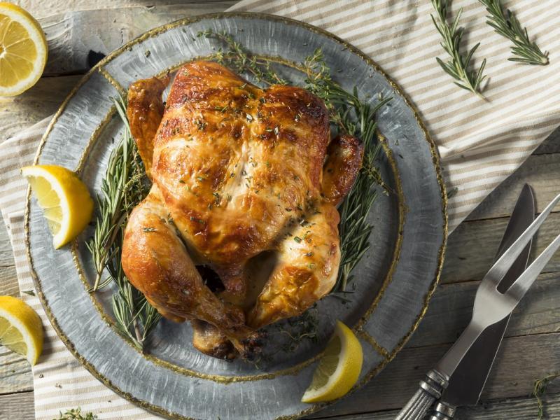 Zapiekanka z kurczakiem i fasolką szparagową