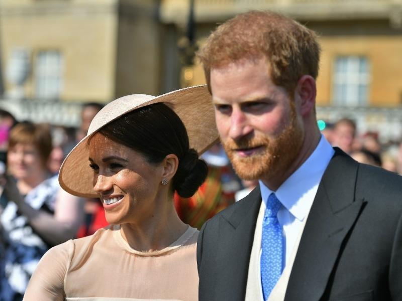Książę Harry i księżna Meghan