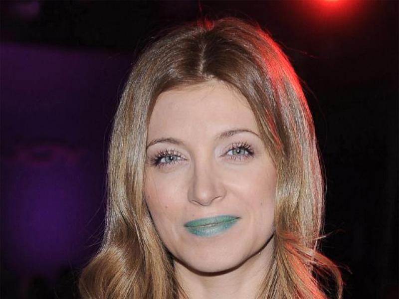 Zielona szminka Ady Fijał - wpadka