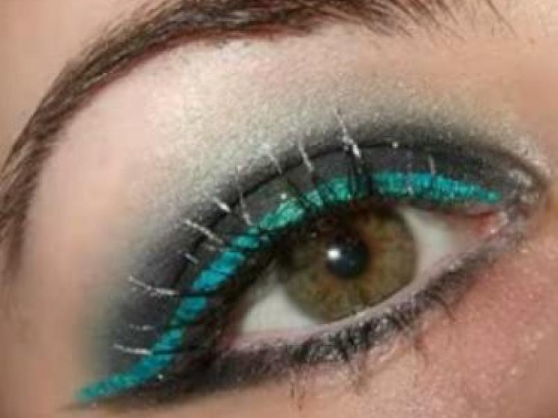 Zielone smoky eyes (viveo)