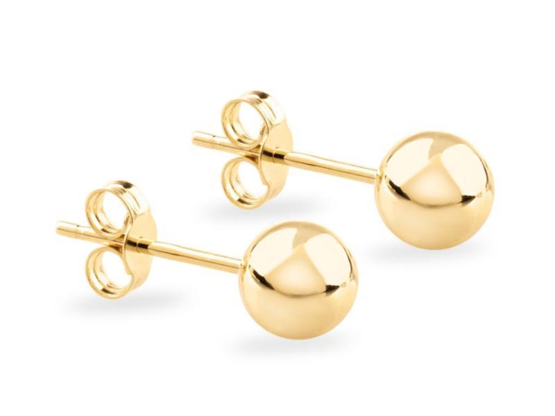 złote kolczyki - prezent dla żony