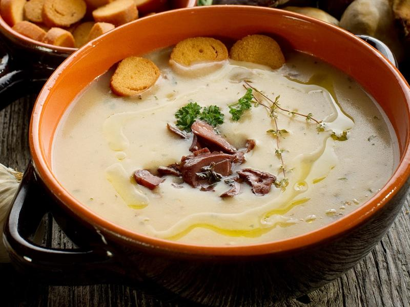 Zupa-krem z borowików