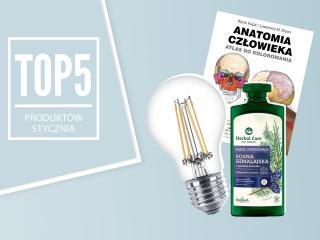 Top 5 produktów na styczeń – wybór redaktor działu Zdrowie