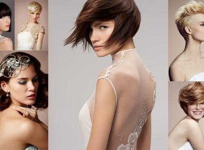 10 fryzur ślubnych z krótkich włosów! Już nie musisz zapuszczać włosów!