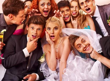 10 największych ślubnych wpadek