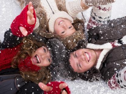 10 pomysłów na aktywne ferie z rodziną