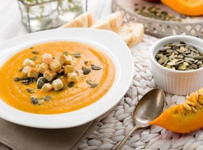 10 przepisów na zupy z dyni