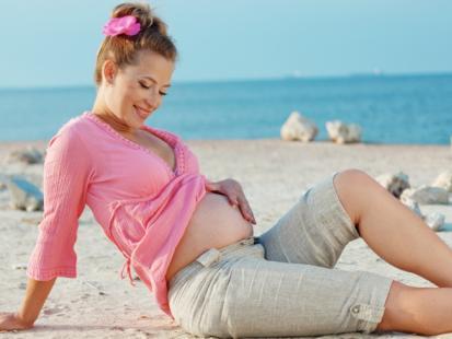 10 rad, jak przetrwać upał w ciąży