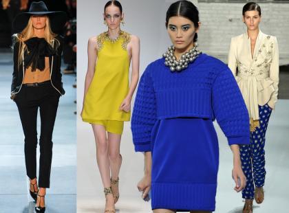 10 trendów na wiosnę 2013