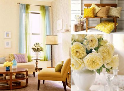 10 wiosennych aranżacji mieszkania
