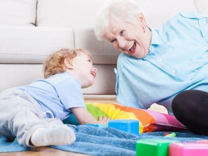 10 zalet bycia babcią na etacie
