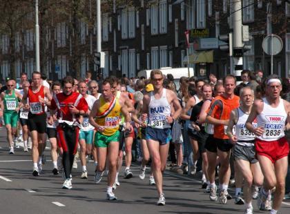 100-latek przebiegł maraton