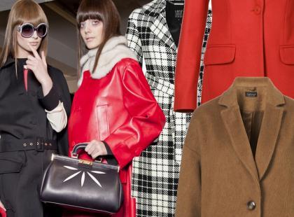 100 modnych płaszczy na jesień 2012