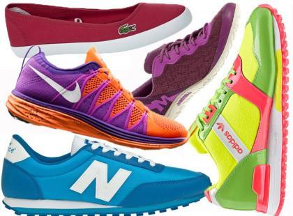 100 par modnych butów sportowych na wiosnę i lato