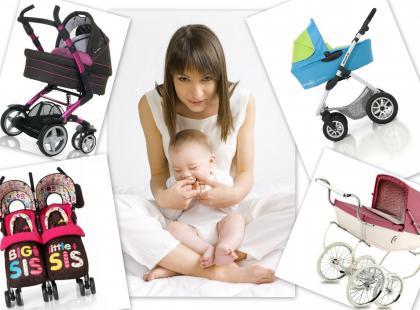 10077831Modne wózki dziecięce