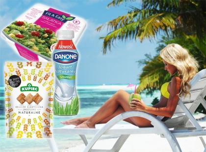 11 dietetycznych przekąsek do wzięcia na plażę