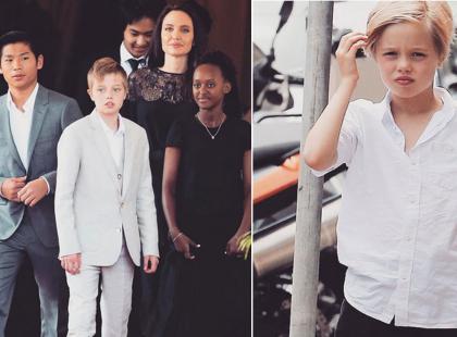 11-letnia córka Jolie i Pitta chce zmienić płeć i przejdzie kurację hormonalną? Rodzice się zgodzili