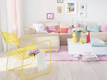 11 pomysłów na nowoczesne wnętrze w pastelowych kolorach