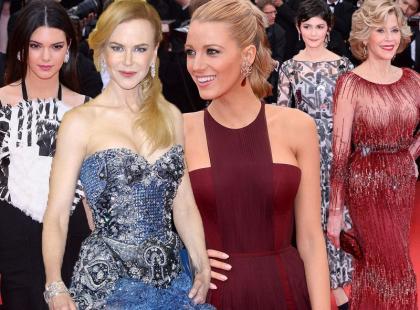 12 kreacji gwiazd z pierwszych godzin festiwalu w Cannes