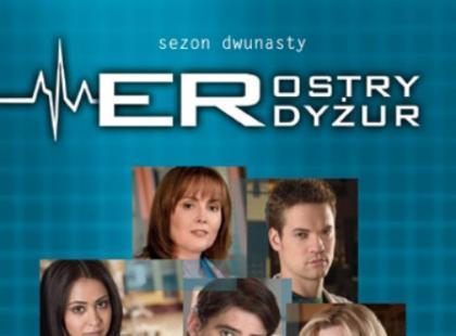 "12. sezon ""Ostrego Dyżuru"" już na DVD!"