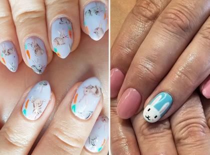 12 wielkanocnych wzorów na paznokcie. One też mogą być ładne!