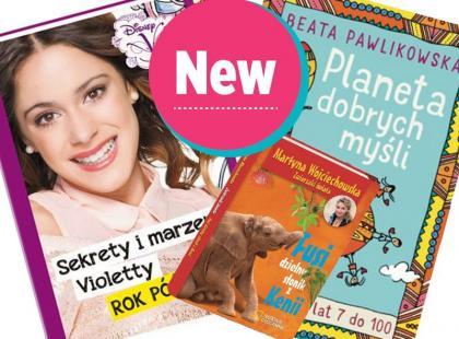 13 książek dla dzieci - same nowości!