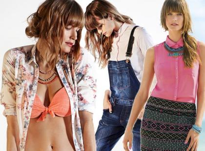 13 modnych stylizacji od Camaieu na wiosnę i lato