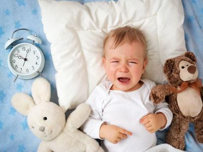 13 powodów, przez które dziecko nie chce spać