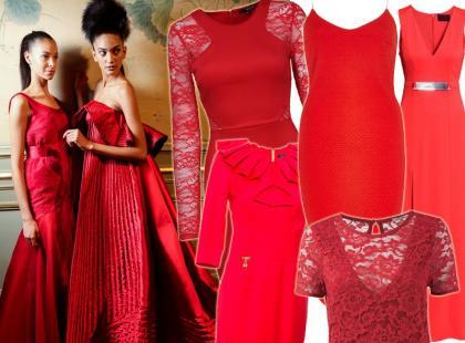 14 czerwonych sukienek na walentynkową randkę