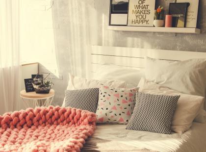 15 modnych dodatków, które odmienią twoją sypialnię