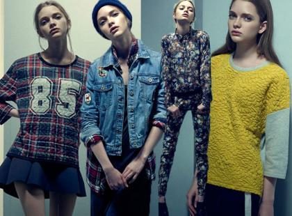 15 modnych stylizacji od Pull & Bear na jesień 2013