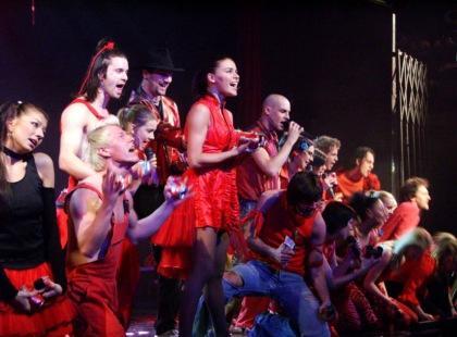 "1500. spektakl musicalu ""Metro"" w Studio Buffo"