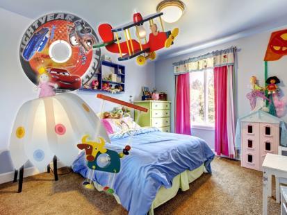 16 inspirujących lamp do dziecięcego pokoju