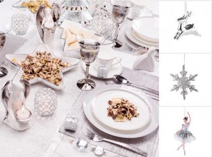 17 najładniejszych dodatków świątecznych w kolorze srebra
