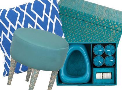 18 dodatków do mieszkania w morskim kolorze
