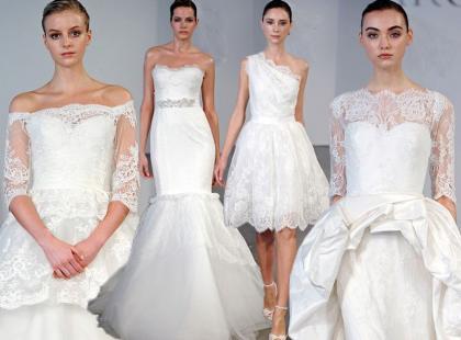 18 pięknych sukien ślubnych od Marchesy