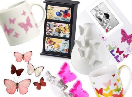 19 wiosennych dodatków z motylami