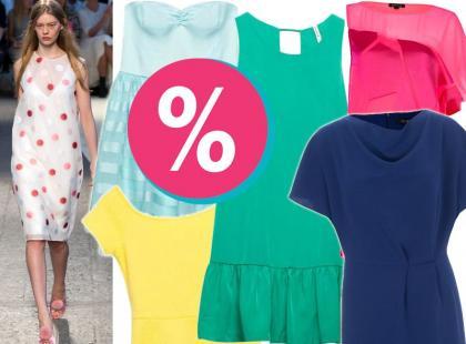 20 modnych sukienek z letnich wyprzedaży