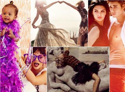 20 najlepszych zdjęć gwiazd z Instagrama