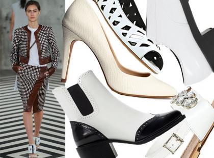 20 par białych butów na koniec lata