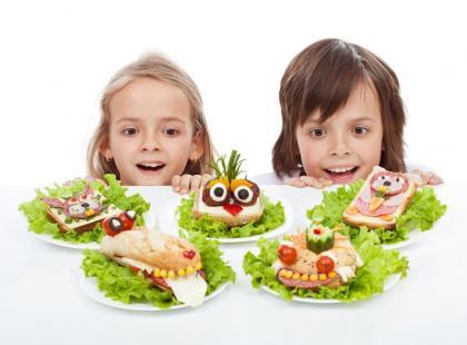 20 pomysłów na dania dla dzieci