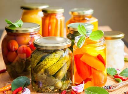 20 pomysłów na przetwory warzywne