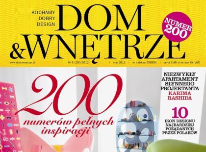 200-tny numer Dom & Wnętrze