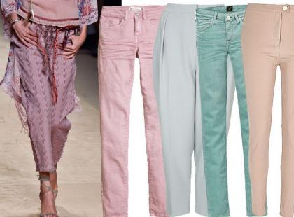 21 par pastelowych spodni. Ceny już od 35 złotych