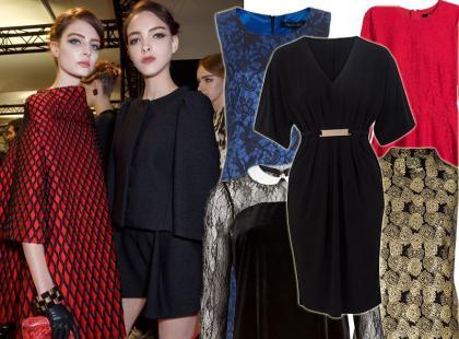 22 sukienki na świąteczne imprezy w pracy