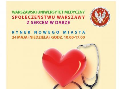 24 maja – Majówka z medycyną w Warszawie