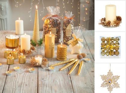 24 złote dodatki i gadżety na Boże Narodzenie