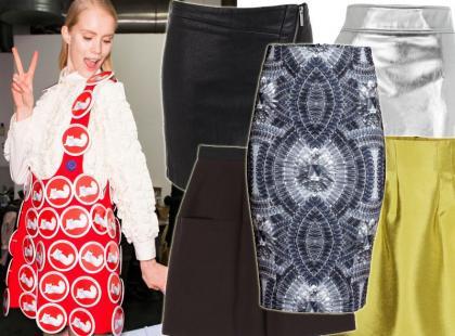 25 modnych spódnic z zimowych kolekcji. Ceny od 35 złotych