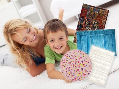 25 nowoczesnych dywanów w kolorach lata