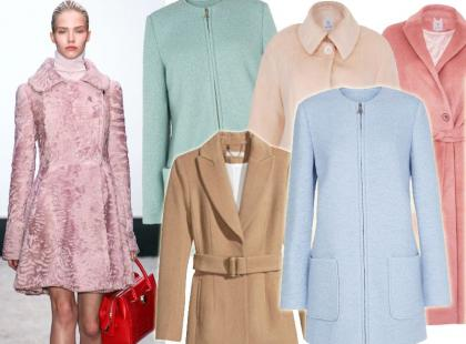 25 pastelowych płaszczy na początek jesieni